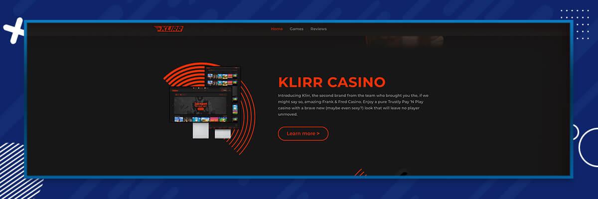 Klirr casino