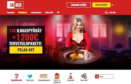 14Red Casino etusivu