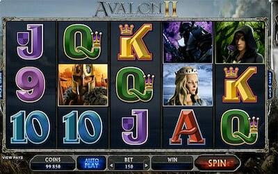 Avalon II - Kolikkopeli