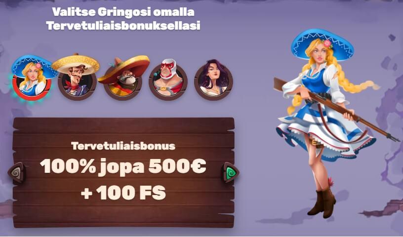 5Gringos offer