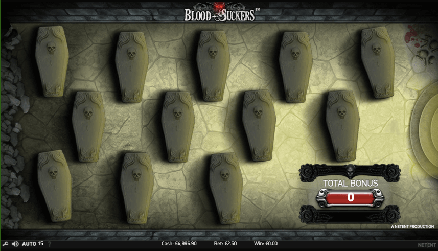 Blood Suckers bonuspeli