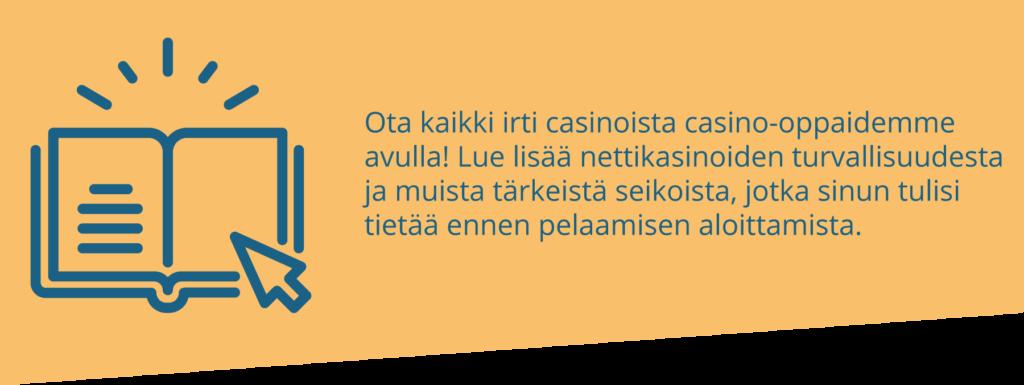 Suomen paras casino-opas on täällä!