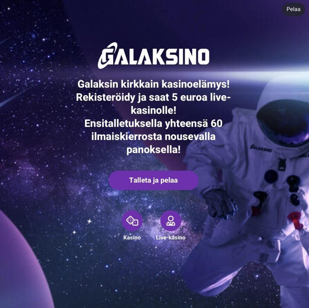 Galaksino offer