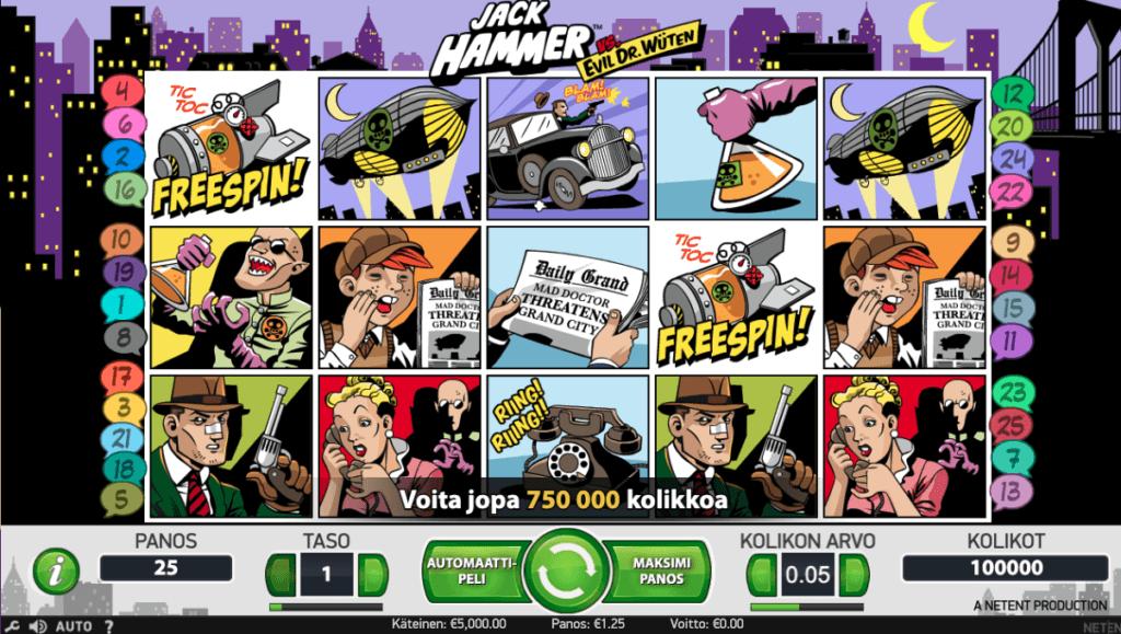 Jack Hammer kolikkopeli