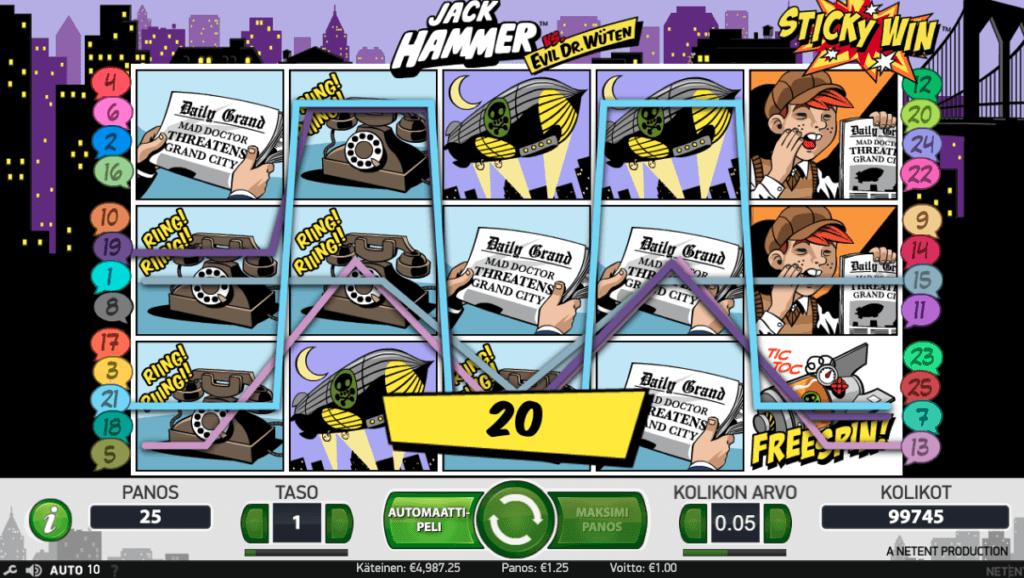 Jack Hammer voitto