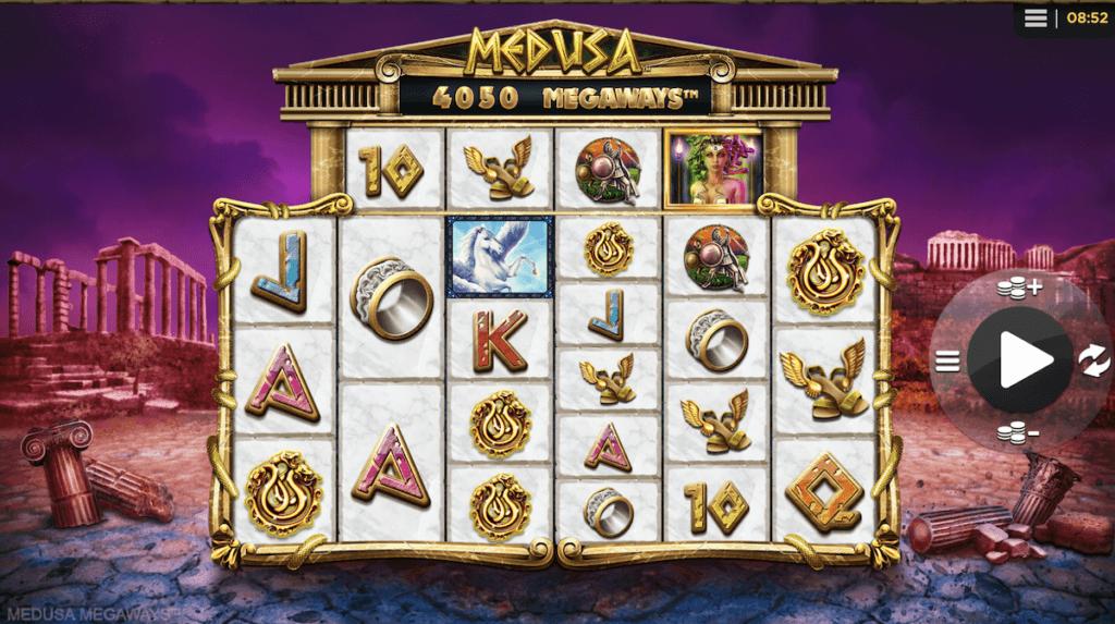 Osta bonus Medusa Megaways slotista