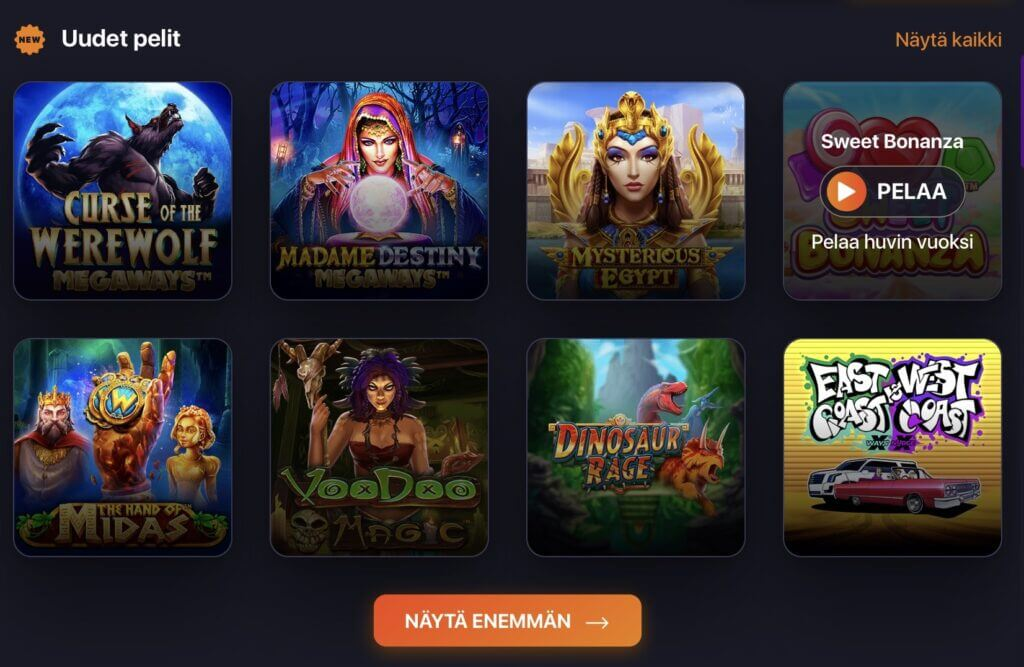 Praise Casino Pelit