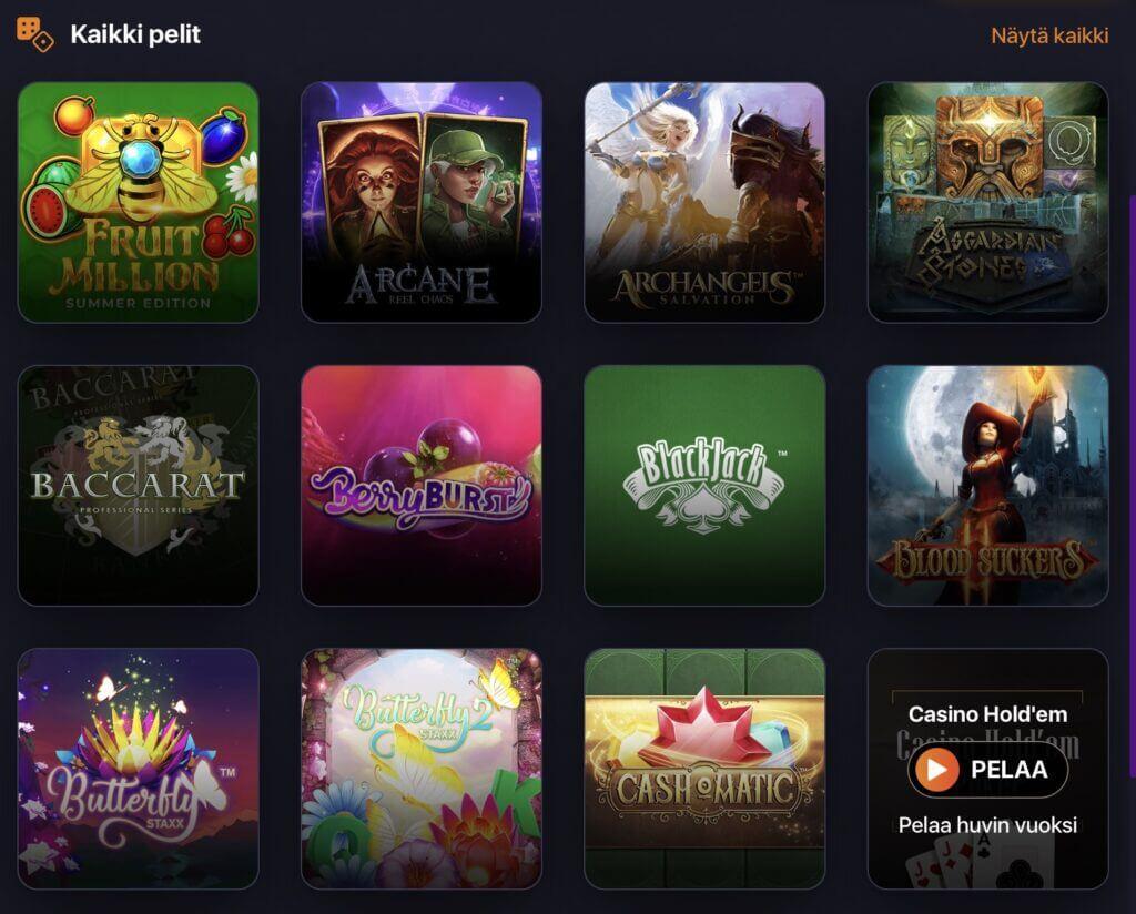 Praise Casino pelit2