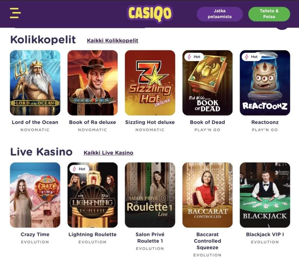 Casiqo Games