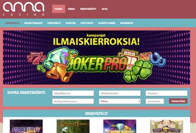 Anna Casino -arvio
