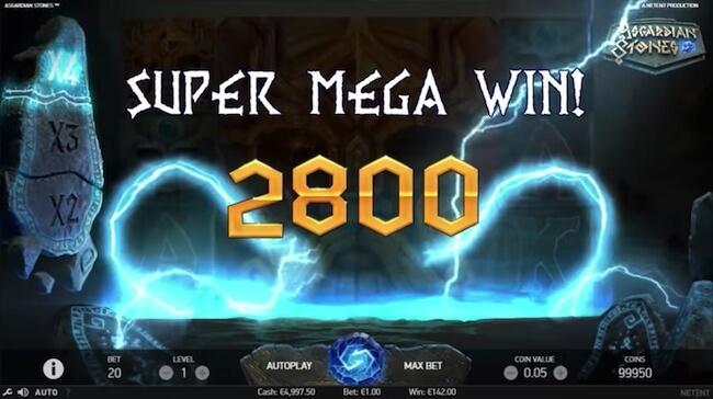 Super suuri voitto pelistä!