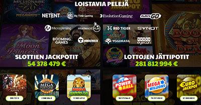 CasinoJEFE pelivalikoima