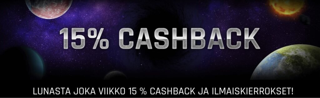 Casino Universe cashback