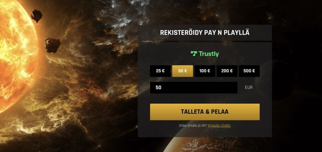 Casino Universe pay n play