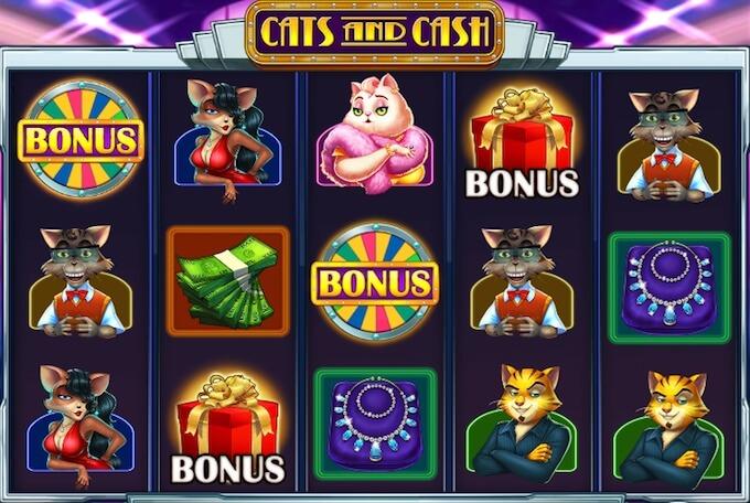 Cats and Cash kolikkopeli