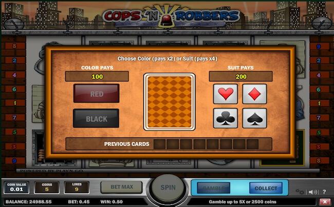 kolikkopelin gamble ominaisuus