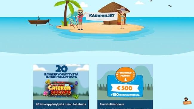CrazePlay kasinon kampanjat