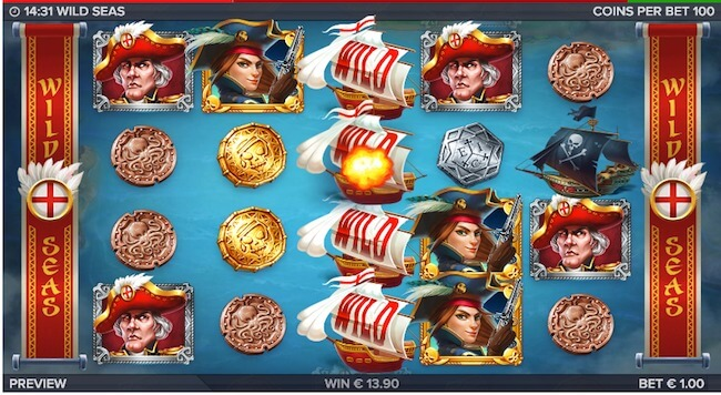 Wild Seas ensimmäinen bonustaso takaa lisäjännitystä!