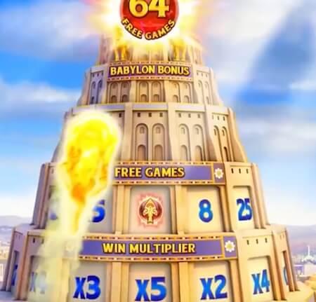 Babylon of Riches pelin bonusominaisuus
