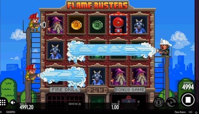 Palomiehet Flame Busters pelissä