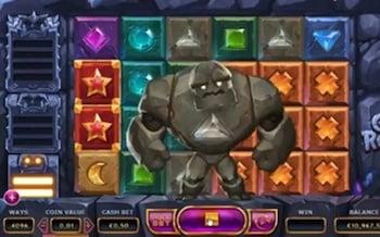 Kivihirviö elementti pelissä!