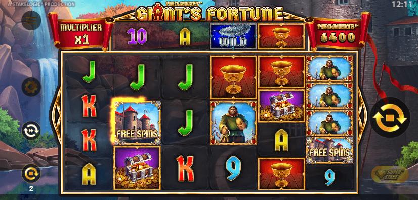Giants Fortune wild