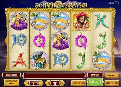 Golden Caravan kolikkopeli