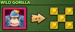 Gorilla wild