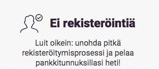 Gutsxpress ei rekisteröintiä