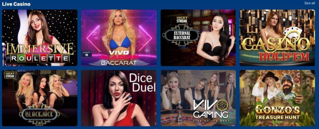 Haiti live-kasino