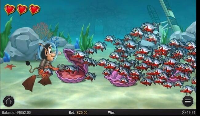 Underwater toiminto ja sen kuvitusta