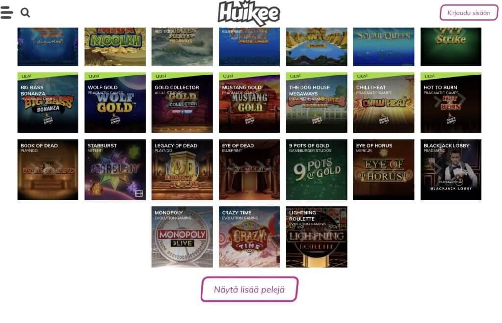 Huikee games