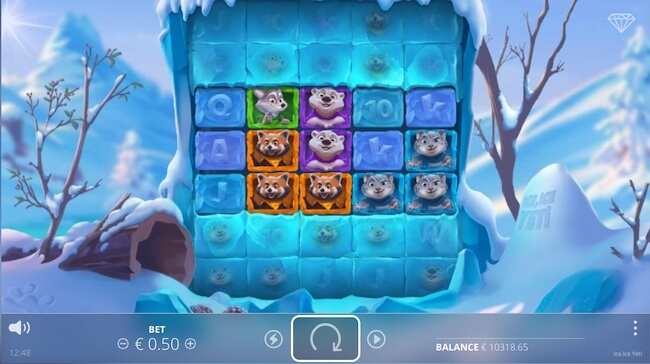 Ice Ice Yeti peliruutu