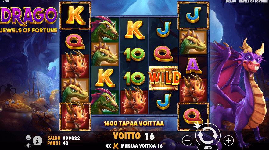 Dragon Jewels of Fortune  wild