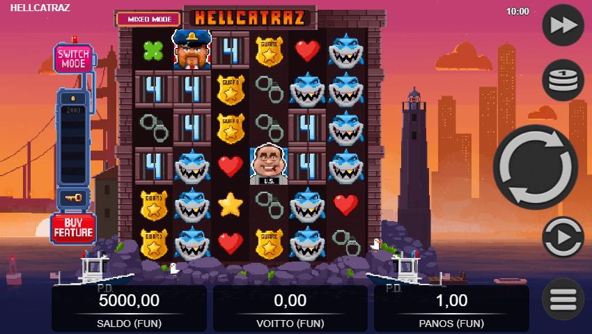 Hellcatraz Symbols