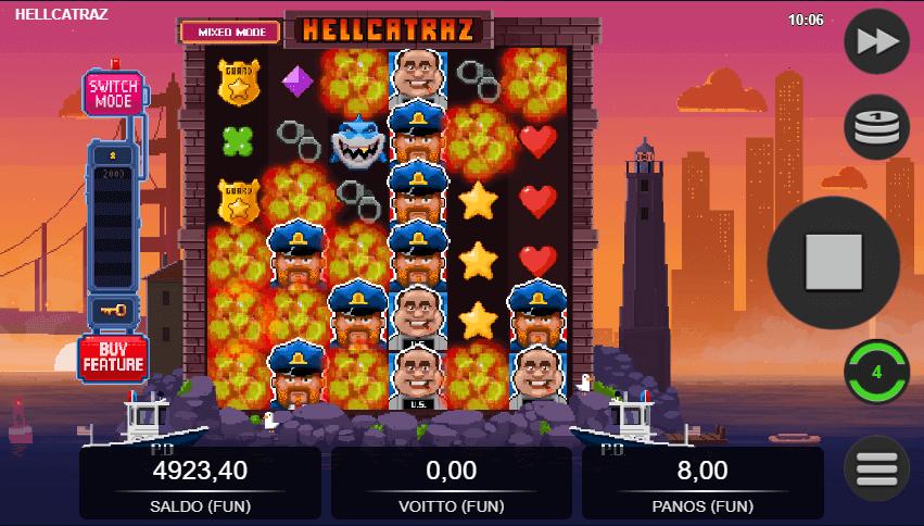 Hellcatraz Putoavat symbolit