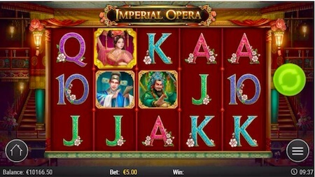 Imperial Opera monen arvoisia symboleita