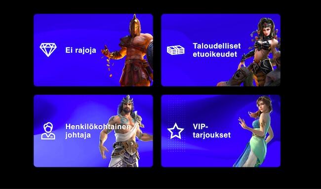 VIP-pelaajien edut