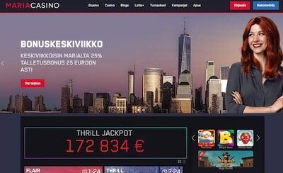 Maria Casino bingo