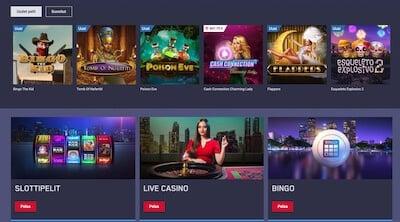 Maria Casino pelejä