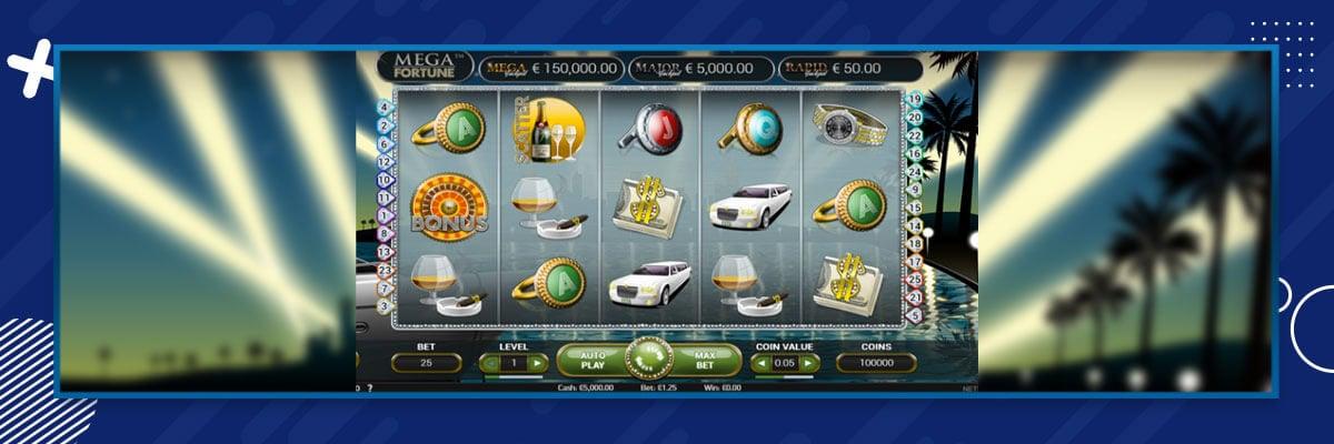 Mega Fortunen pelaaminen