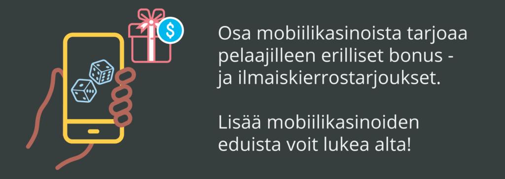 Mobiilikasinoiden etuja