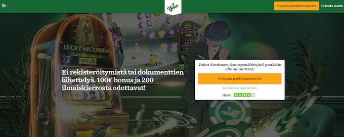 Mr Green kasino