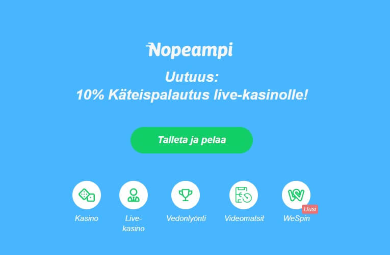 Nopeampi Pay N Play