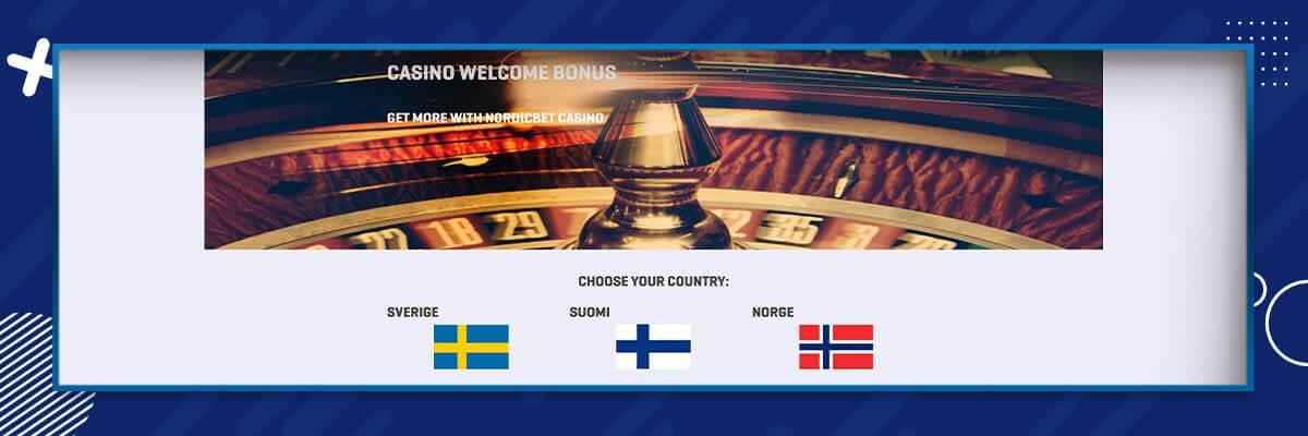 NordicBet ruletti