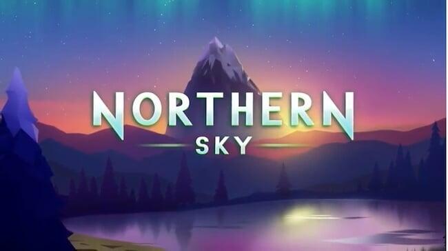 Northern Sky pelin kaunis tausta!