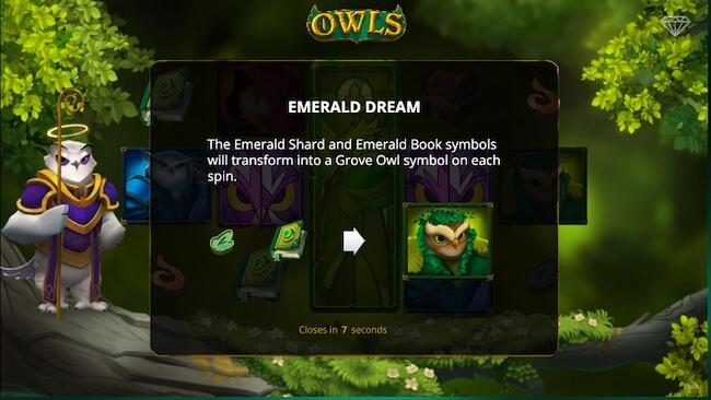 Owls pelin symboleita