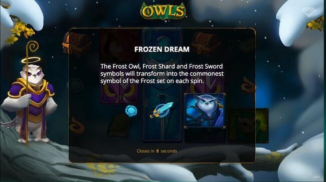 Frozen toiminnon tärkeät symbolit