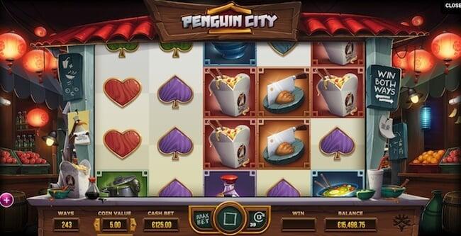 Pingviinien kaupunki on vaarassa