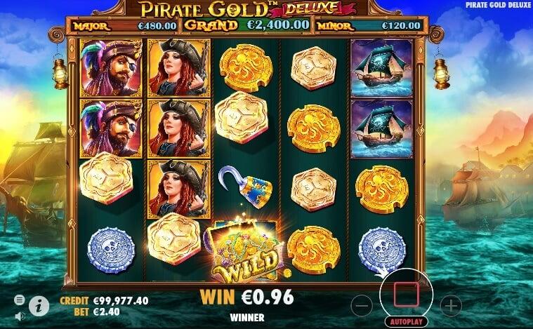 Pirate Gold Deluxe Symbols